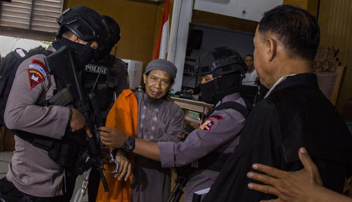 Foto Berita Aman Abdurrahman Bantah Dirinya Dalang Bom Thamrin