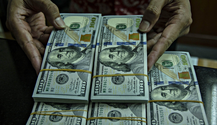 Foto Berita Data Ekonomi Positif, Dolar AS Alami Penguatan