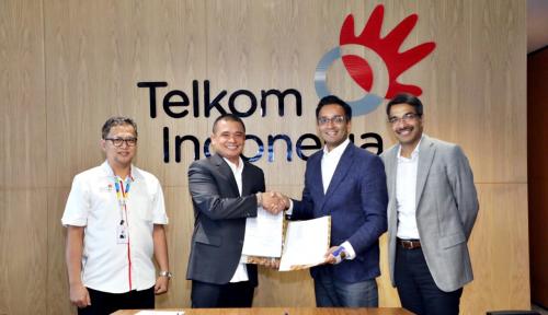 Foto Telkom-Cisco Kerja Sama Dukung Transformasi Digital BUMN