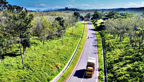 Foto Pemeliharaan Jalintim Sumatera Gunakan Sukuk Negara