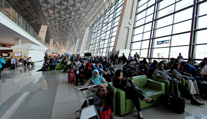 Bos AP II Akui Terjadi Penurunan Pemudik di Bandara Soetta - Warta Ekonomi