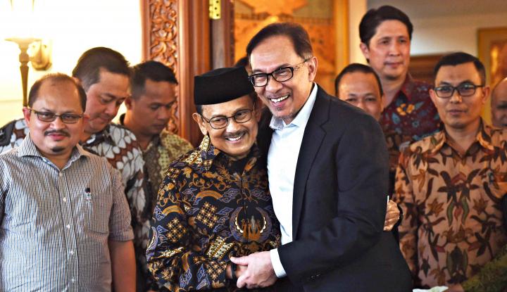 Foto Berita Kesan Anwar Ibrahim soal Kepemimpinan Habibie, Baik apa Buruk?