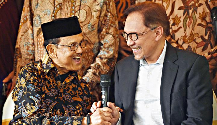 Foto Berita Anwar Ibrahim: Habibie Tokoh Reformasi Pemberani
