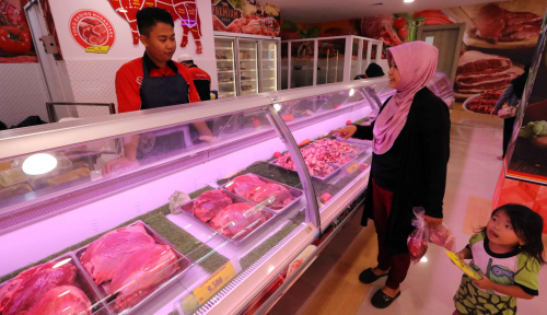 Jaga Ketahanan Pangan, Masyarakat Diminta Biasakan Konsumsi Daging Beku