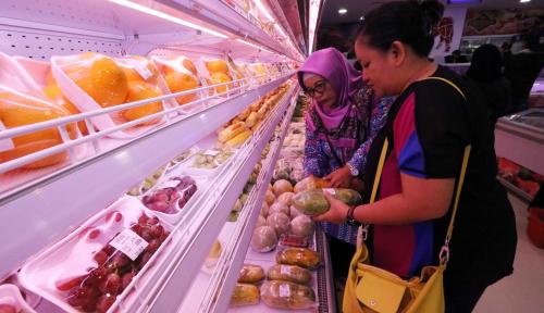 Foto Maret, Inflasi Diperkirakan Makin Menurun
