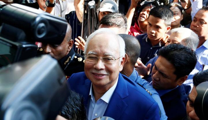 Najib Razak Yakin Lolos dari Enam Tuduhan Rezim Hukum Mahathir - Warta Ekonomi