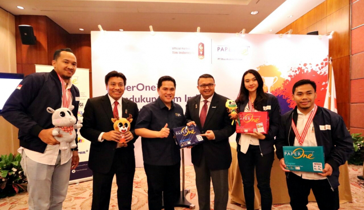 Paper One Dukung Tim Indonesia di Asian Games 2018 - Warta Ekonomi