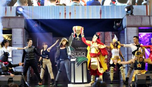 Foto Aerowolf Roxy Kembali Juarai Garuda Cup by Tokopedia Voucher Game