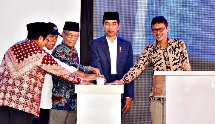 Foto Berita Resmikan Rusun di Pesantren Hamka, Ini Komentar Jokowi