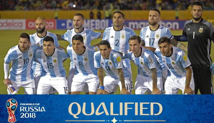 Foto Berita Ini Dia Skuad Timnas Argentina di Piala Dunia 2018
