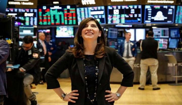 Foto Berita Stacey Cunningham, Bos Wanita Pertama di Bursa Efek New York