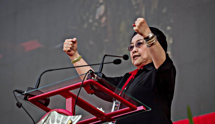Foto Berita Tak Menangkan Gus Ipul-Puti, Megawati: 'Kabeh Ta'k Pecati'