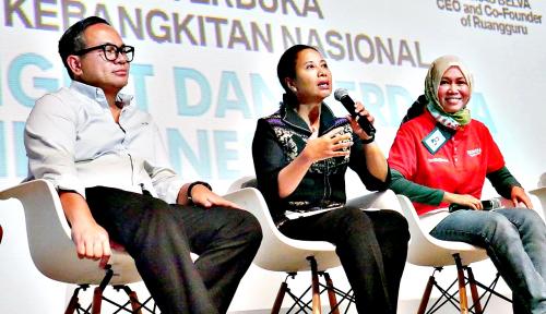 Foto Rini: Generasi Milenial Berperan Dalam Pembangunan Negeri