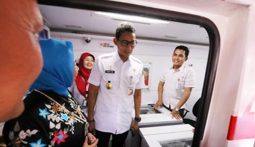 Foto Sandi Klaim OK-OCE Mampu Tingkatan Kesejahteraan Warga