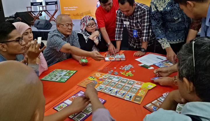 Foto Berita Belajar Inovasi Bisnis Lewat Boardgame