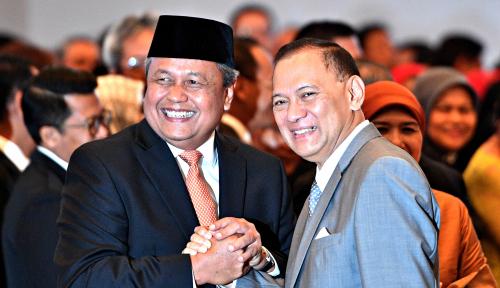 Foto Darmin: Gubernur Baru BI Juga Peduli UMKM