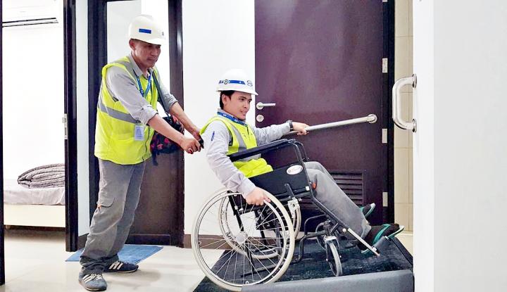 Foto Berita Progres Renovasi 1.000 Kamar untuk Asian Paragames Capai 35%