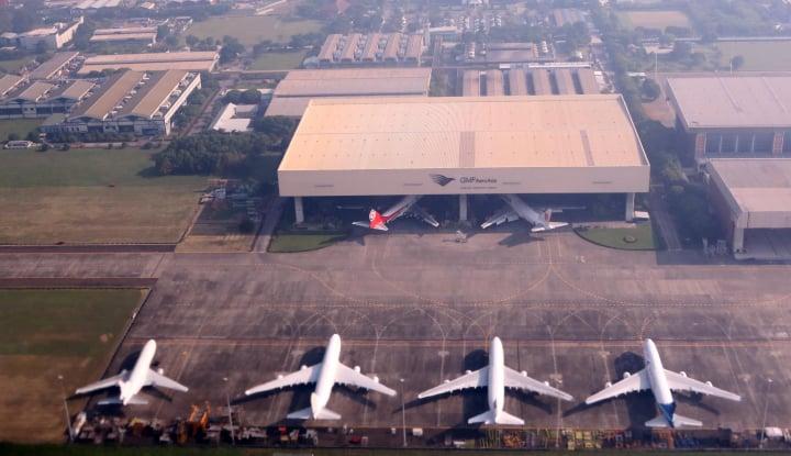 Bisnis Perawatan Pesawat Ciamik, GMF Cetak Pendapatan US$470 Juta - Warta Ekonomi