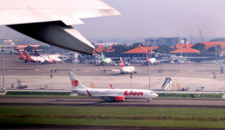 Foto Berita AP I Benarkan Pesawat Lion Air Sempat Putar Balik di Surabaya