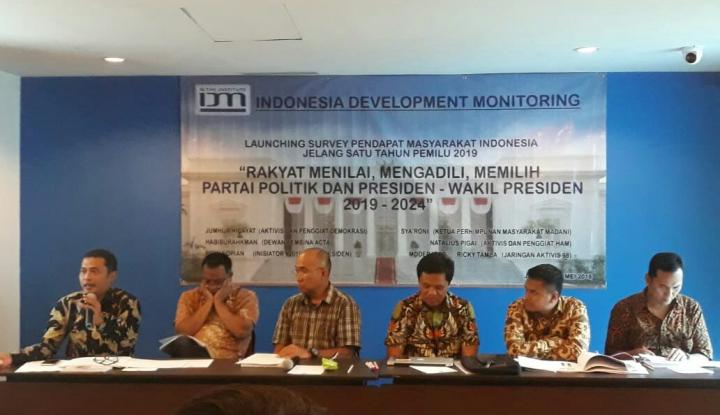 Foto Berita Survei IDM: Prabowo Singkirkan Jokowi, Budi Gunawan Cawapres Teratas
