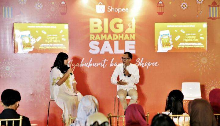 Foto Berita Shopee Targetkan 1 Juta Order Sehari di Puncak Big Ramadhan Sale