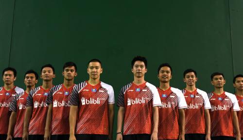Foto Indonesia Lolos ke Semifinal Piala Thomas