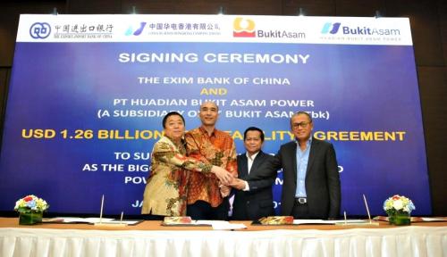Foto Proyek PLTU Mulut Tambang Sumsel 8 Dapat Pinjaman Rp17 Triliun