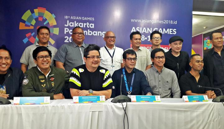 Foto Berita Warga Antusias Saksikan Festival Obor Asian Games
