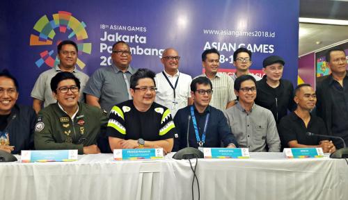 Foto Pembukaan Asian Games Gunakan EO Asing?
