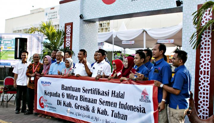 Foto Berita 6 UKM Binaan Semen Indonesia Kantongi Sertifikat Halal