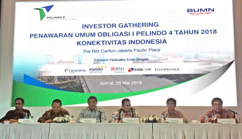 Foto Selesaikan 4 Pelabuhan, Pelindo IV Terbitkan Obligasi Rp3 T