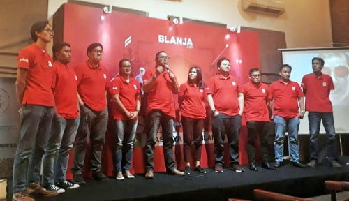 Foto Blanja.com Klaim Per Tahun Volume Transaksi Naik 2 Kali Lipat