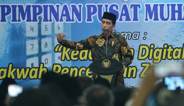 Foto Berita Jokowi Ajak Para Santri Terima Perbedaan