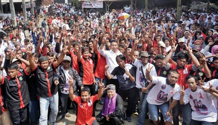 Foto Berita Siap Menangkan Hasanah, PDIP Jabar Terjunkan 74.944 Saksi