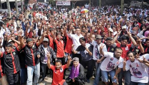Foto Siap Menangkan Hasanah, PDIP Jabar Terjunkan 74.944 Saksi