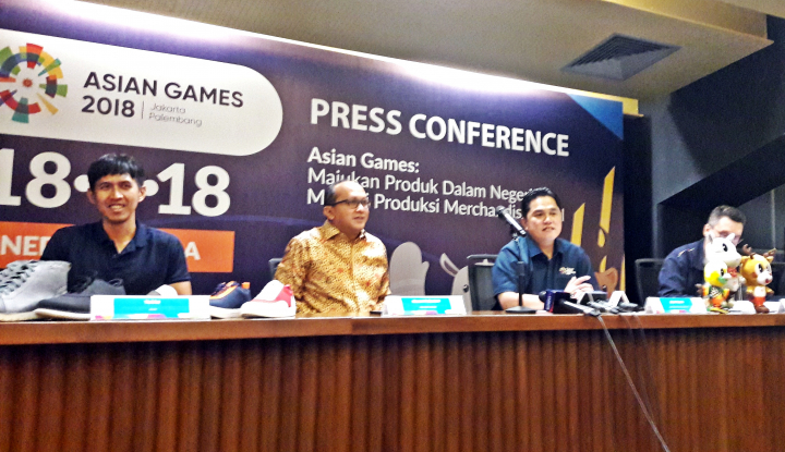 Foto Berita Sritex Jadi Official Merchandise Asian Games 2018