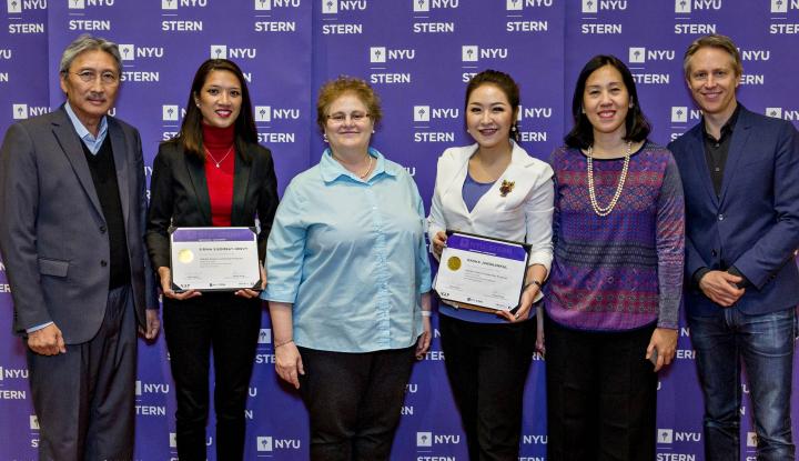 Foto Berita The 2 AGLP Scholars Attended NYU Stern School of Business