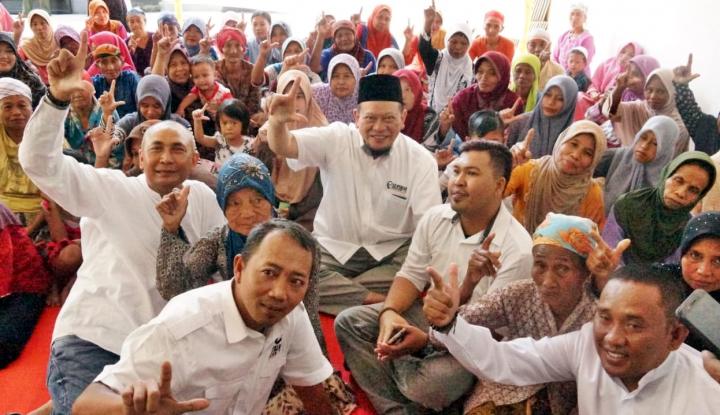 Foto Berita Ini Dia, Janji La Nyalla Jika Terpilih Jadi Anggota DPD RI