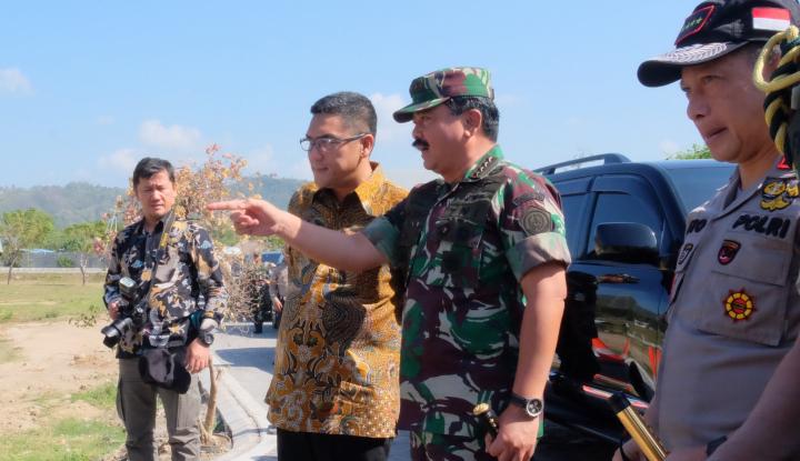 Foto Berita Ada Sinyal Kuat Black Box Lion Air, Panglima TNI Perintahkan Anak Buah Cari Sampai Dapat