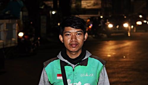 Foto Mitra Go-Jek, Sang Penyelamat Sahur