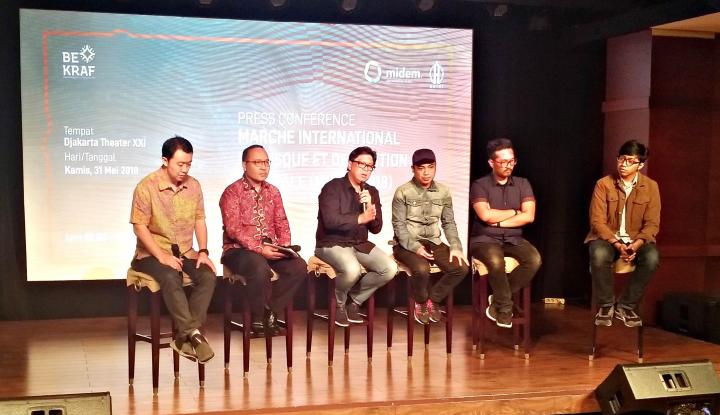 Foto Berita Bekraf Bawa Indonesia untuk Pertama Kali Hadir di MIDEM Prancis