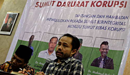 Foto ICW Harap Polisi Ungkap 'Otak' Pelaku Penganiayaan Pegawai KPK