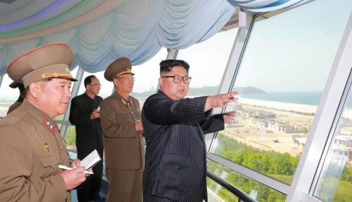 Foto Kim Jong Un Optimis Korut Bisa Bangkit dari Keterpurukan Ekonomi