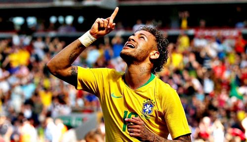 Foto Neymar: Saya Baru Pulih 80%