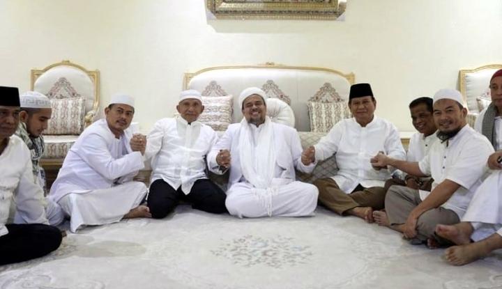 Kepulangan Rizieq Jadi Syarat Rekonsiliasi, Jangan-Jangan Prabowo... - Warta Ekonomi
