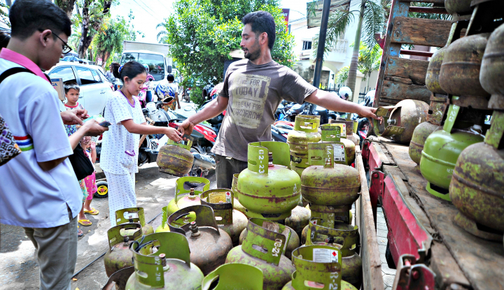 Jaga Aman, Pertamina Tambah Stok Gas Elpiji 3 Kg