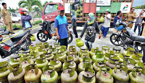Foto Kalteng Terima Pasokan Elpiji 45.000 Tabung Per Hari