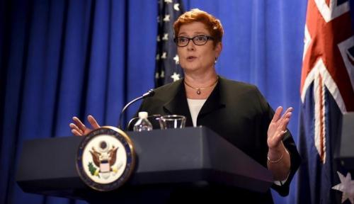 Foto Ini Respons Pejabat Australia Soal Pesan Menlu Retno ke Menlu Marise Payne