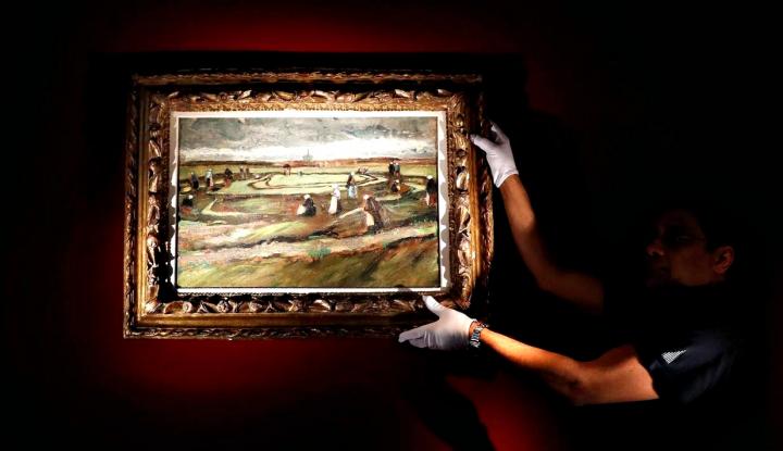Foto Berita Rekor Dunia, Lukisan Van Gogh Terjual US$8,2 Juta