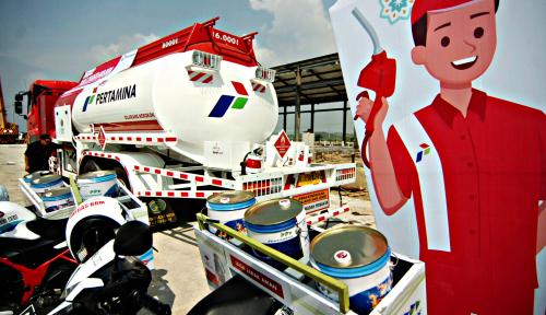 Foto Sambut Nataru, Pertamina Siagakan 11 KiosK di Sepanjang Tol Trans Jawa